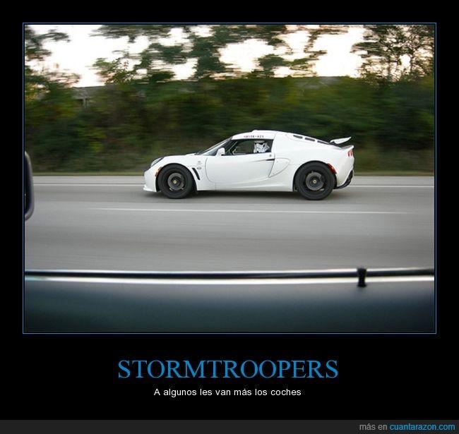 coche,star wars,stormtrooper,velocidad