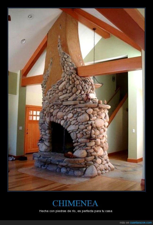 artesana,chimenea,perfecto,piedras,rio,rocas