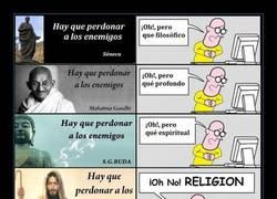 Enlace a Si la religión te hace ser mejor persona, síguela sin obligar a nadie