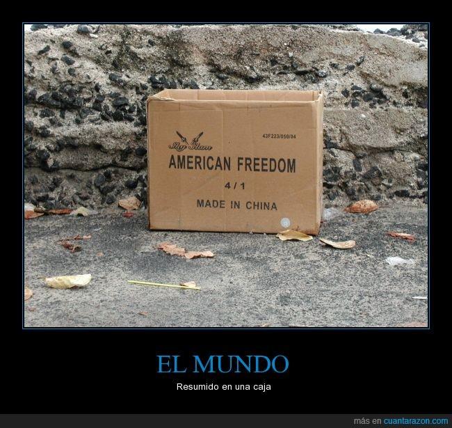 america,caja,china,libertad