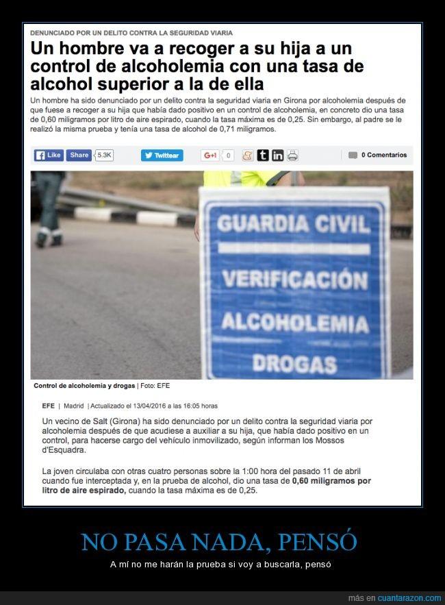 alcoholemia,borrachera,borracho,buscar,control,Gerona,hija,hombre,mossos d'esquadra,mozos de escuadra,Salt