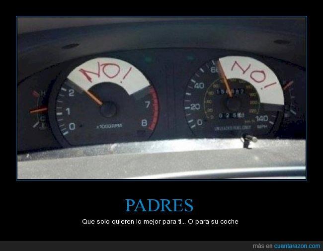 coche,padres,restringir,sobreprotectores,velocidad