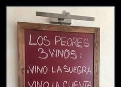 Enlace a Estos 3 vino son los peores del mundo