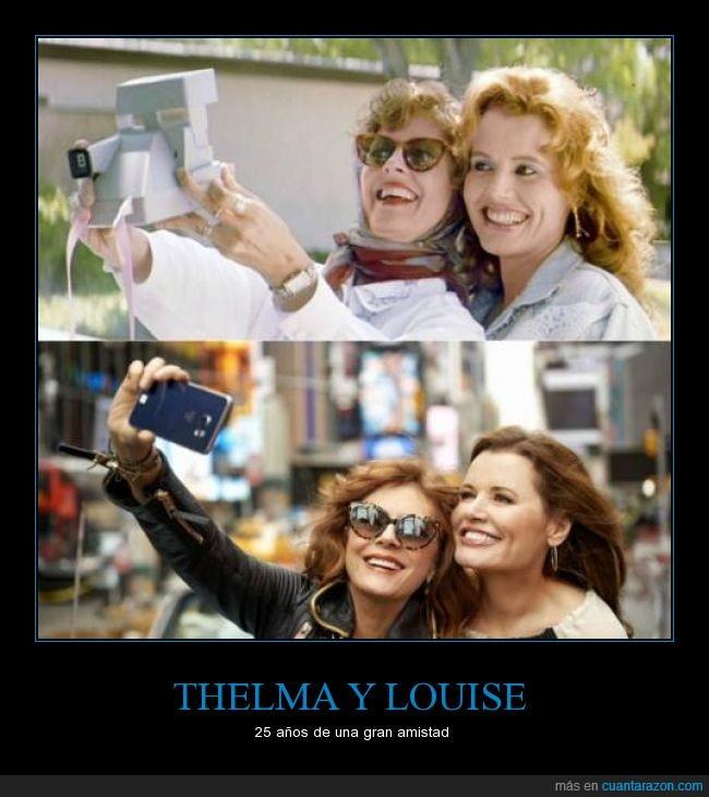 25 años,estan mas lindas que nunca,fotografia,louise,pelicula,thelma