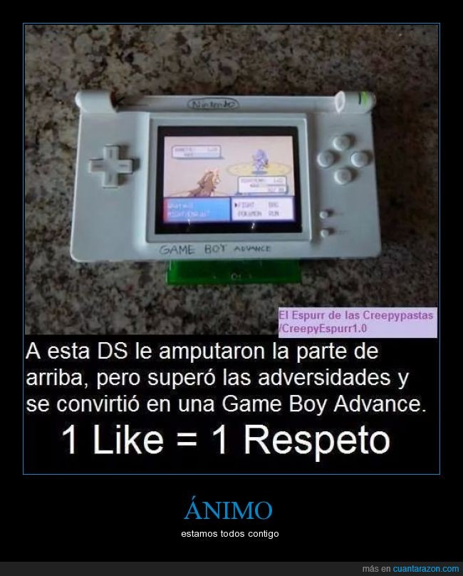 amén,DS,Game Boy,Game Boy Advance,nintendo,nintendoDS