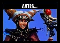 Enlace a ¿Recordáis a Rita Repulsa de Los Power Rangers?