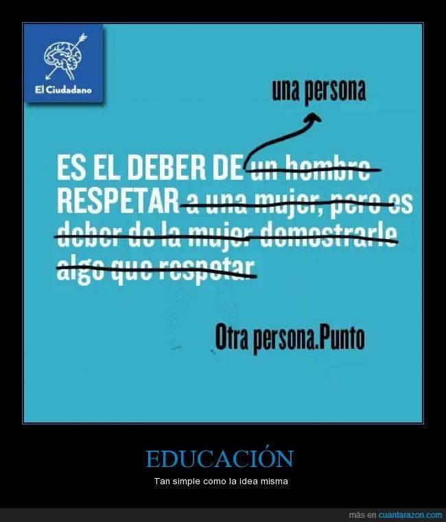 amor,deber,educacion,genero,hombre,mujer,respetar,respeto,violencia
