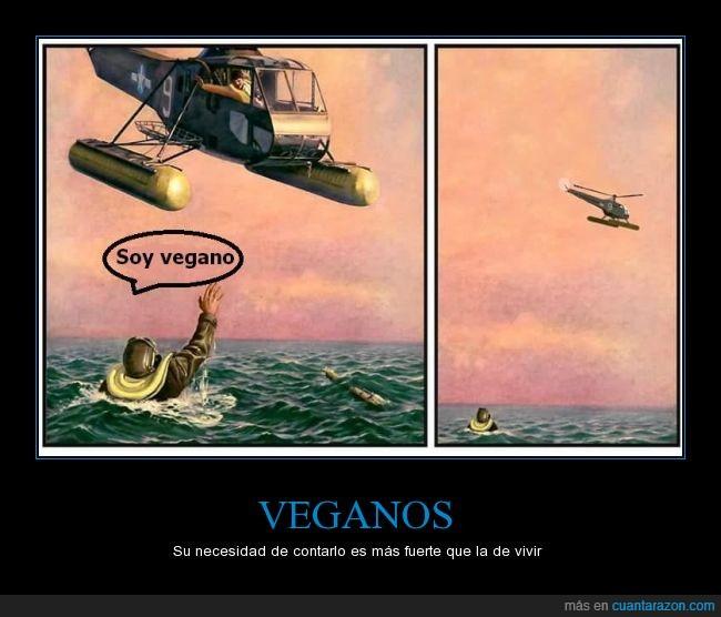 ahogar,genial,helicoptero,meme,rescatar,vegano