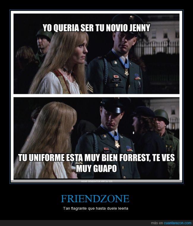 amor,enamorado,Forest Gump,friendzone,guapo,Jenny,novio,piropo,uniforme