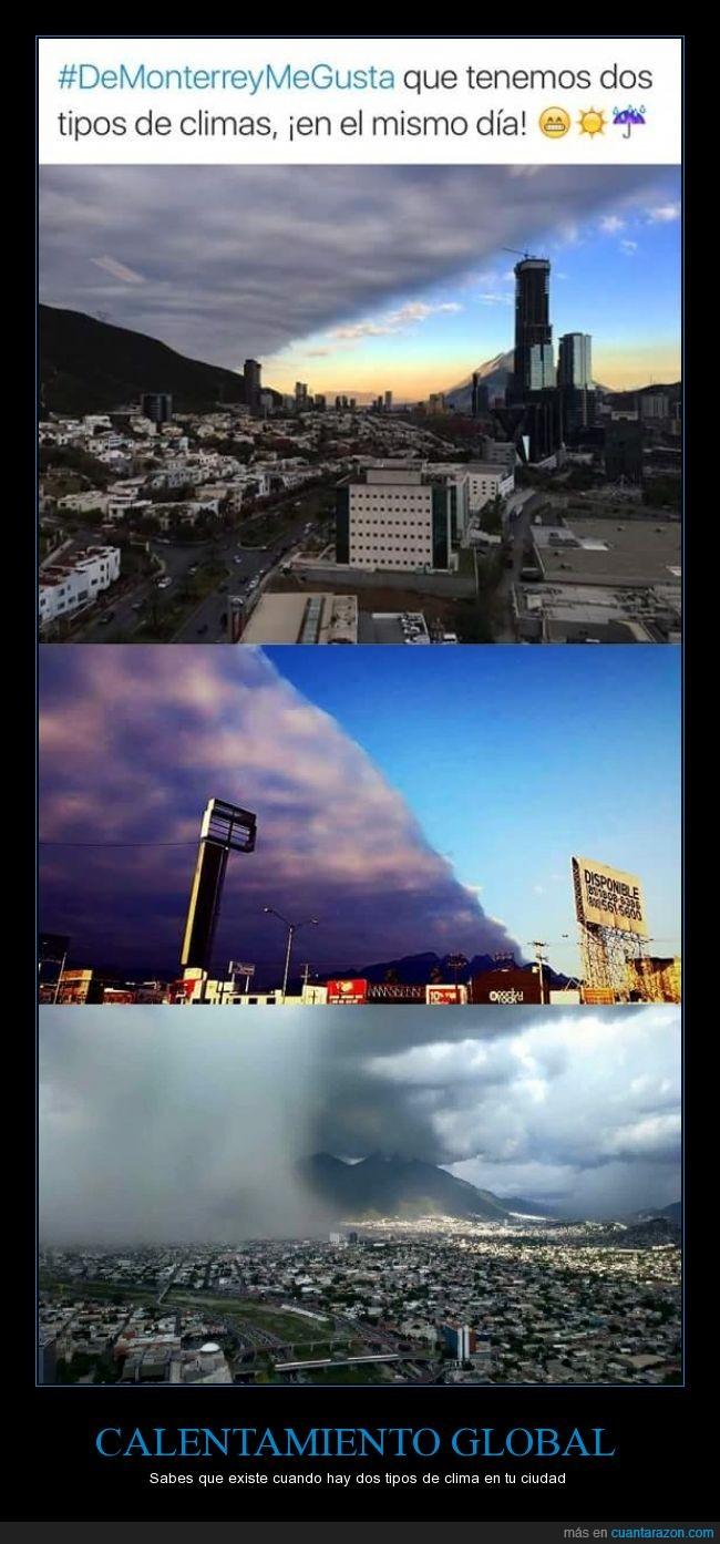 ciudad,Clima,loco,Mexico,monterrey