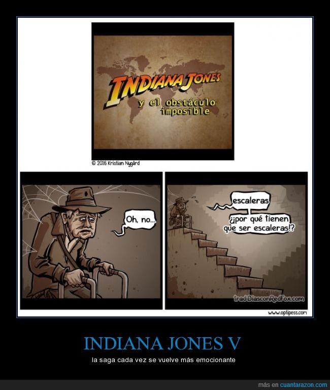 Actualidad,andador,Harrison Ford,Indiana Jones V,Proximamente,viejo,y el obstáculo imposible