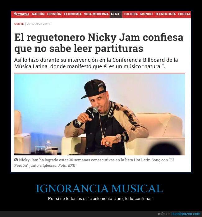 ingorante,reggaeton,sabe más mi tia.