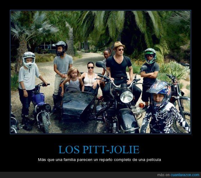 adoptados,familia,hijos,Jolie,Pitt,reparto