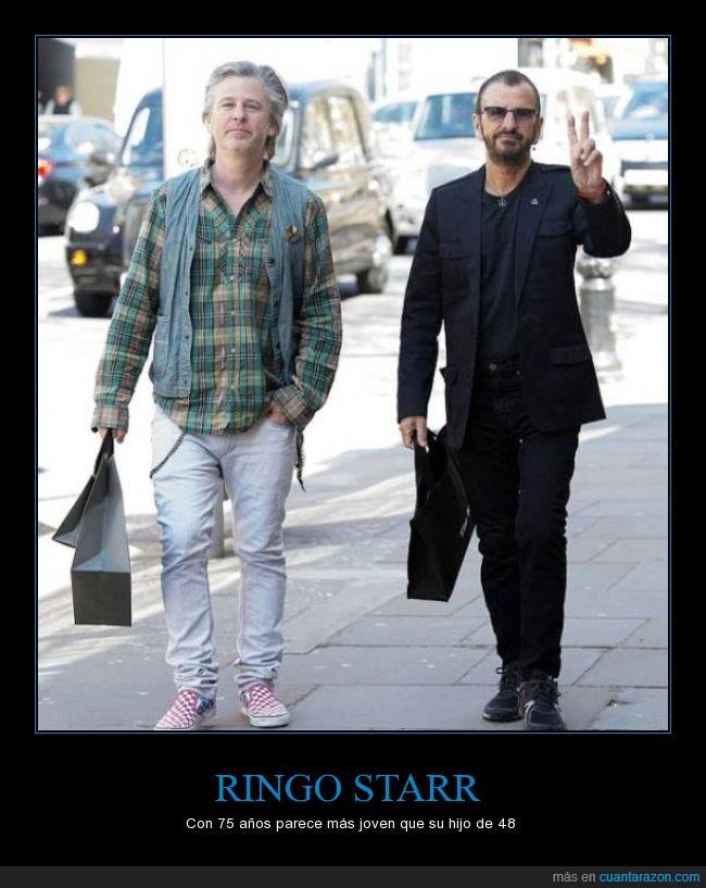 49,75,edad,joven,mayor,Ringo Starr,the Beatles