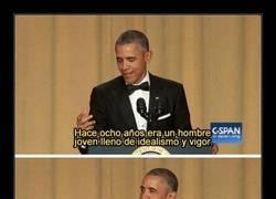 Enlace a Obama es mejor cómico que la mayoría de comicuchos de hoy en día