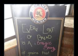 Enlace a ¿Por qué es tan trágico el pan?