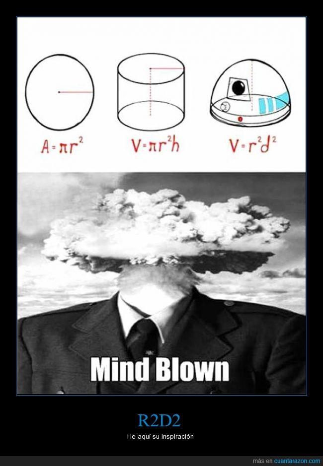 area,explosión,forma,matematicas,rd2d,Star Wars