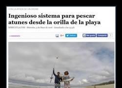 Enlace a EL DRONE PESCADOR