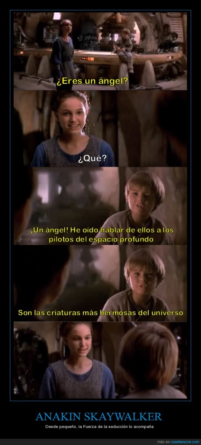 amor,anakin skywalker,angel,niños,Padme,star wars