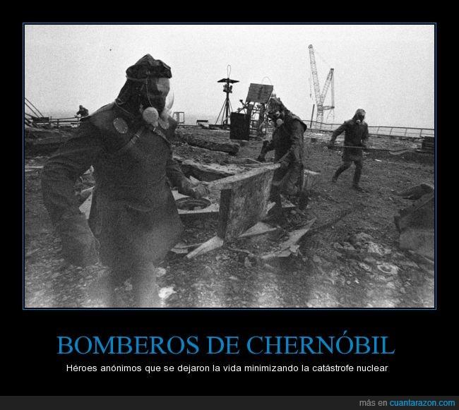Bomberos,Chernóbil,heroes,Nuclear,Radiación