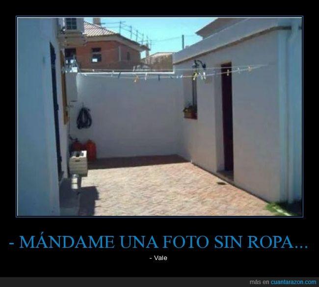 foto,pedir,ropa,tender,terraza
