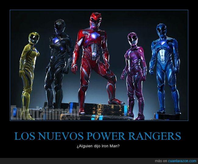 armadura,ironman,Power Rangers,remake