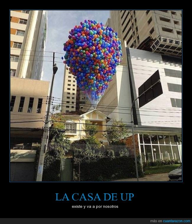 casa,Disney,globos,up