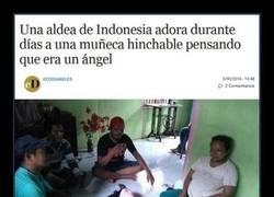 Enlace a ¿En Indonesia no tienen tele o algo?