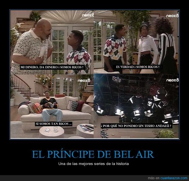 príncipe de bel air,tesho andalú,tío phill,will