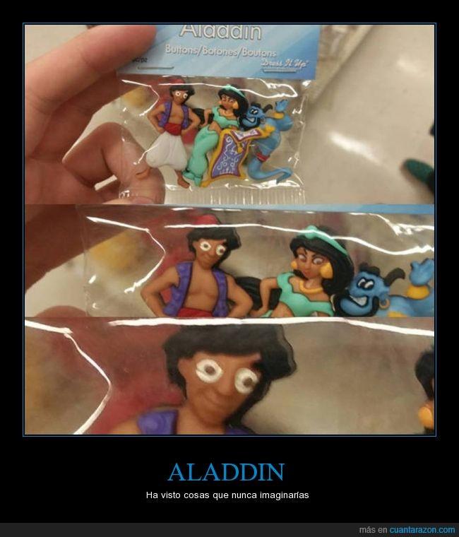 aladdin,cara,cosas,ojos,susto,ver