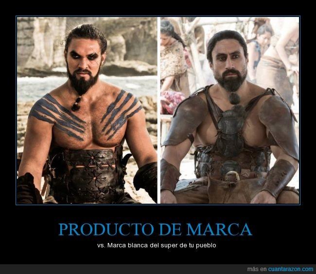 blanca,hacendado,Juego de tronos,Khal Drogo,marca,producto