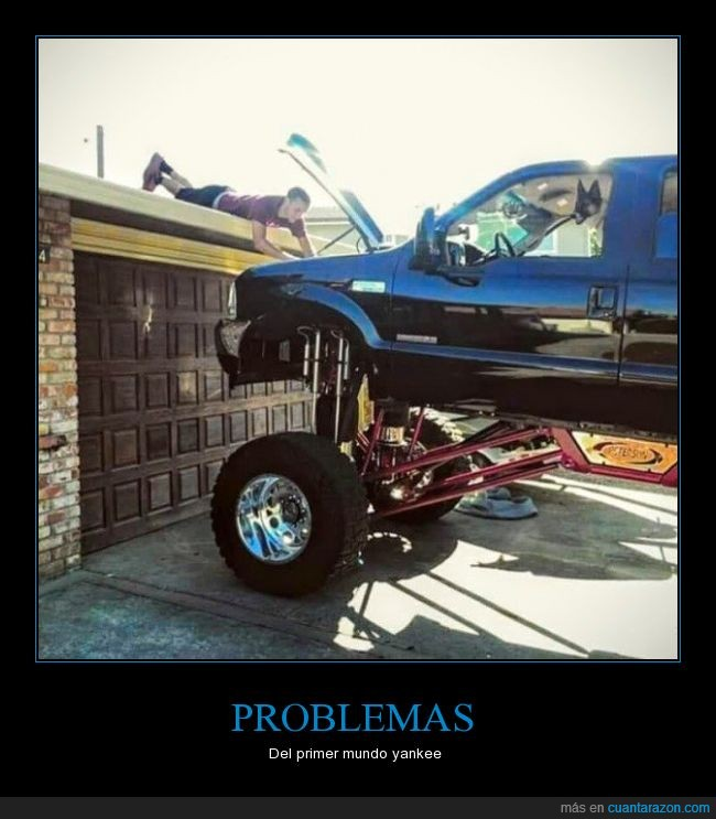 americano,arreglar,coche,motor,mundo,primer,problemas,subir,yankee
