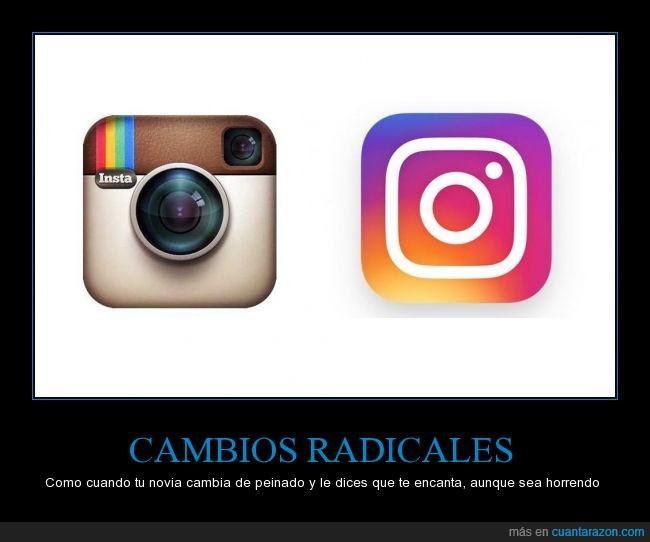 color,horrible,Instagram,new logo,novia,que feo,wtf