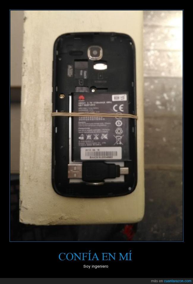 bateria,ingeniero,lo peor esque sirvió,movil,teléfono