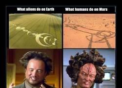 Enlace a ¿Y si esos dibujos alienígenas nos están diciendo algo?