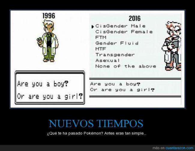 antes,géneros,pasado,pokemon,presente