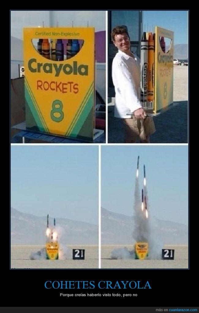 caja,cohete,crayola,despegar,rockets,wtf