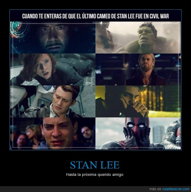 cameo,civil war,marvel,películas,stan lee