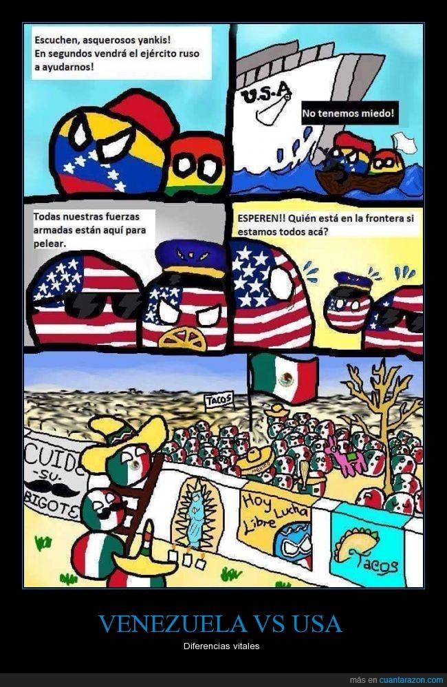 mexico,mexicoball,polandball,usa,usaball,venezuelaball