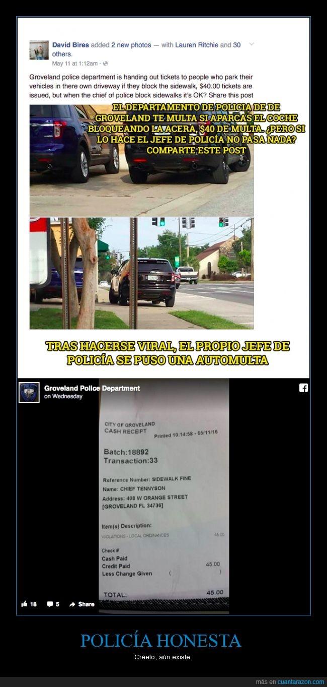 aparcar,honestidad,mal,multa,polícia