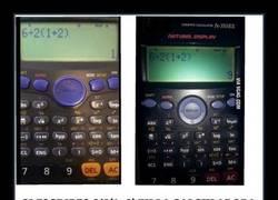 Enlace a Éste es el motivo por el cual estas dos calculadoras dan distinto resultado