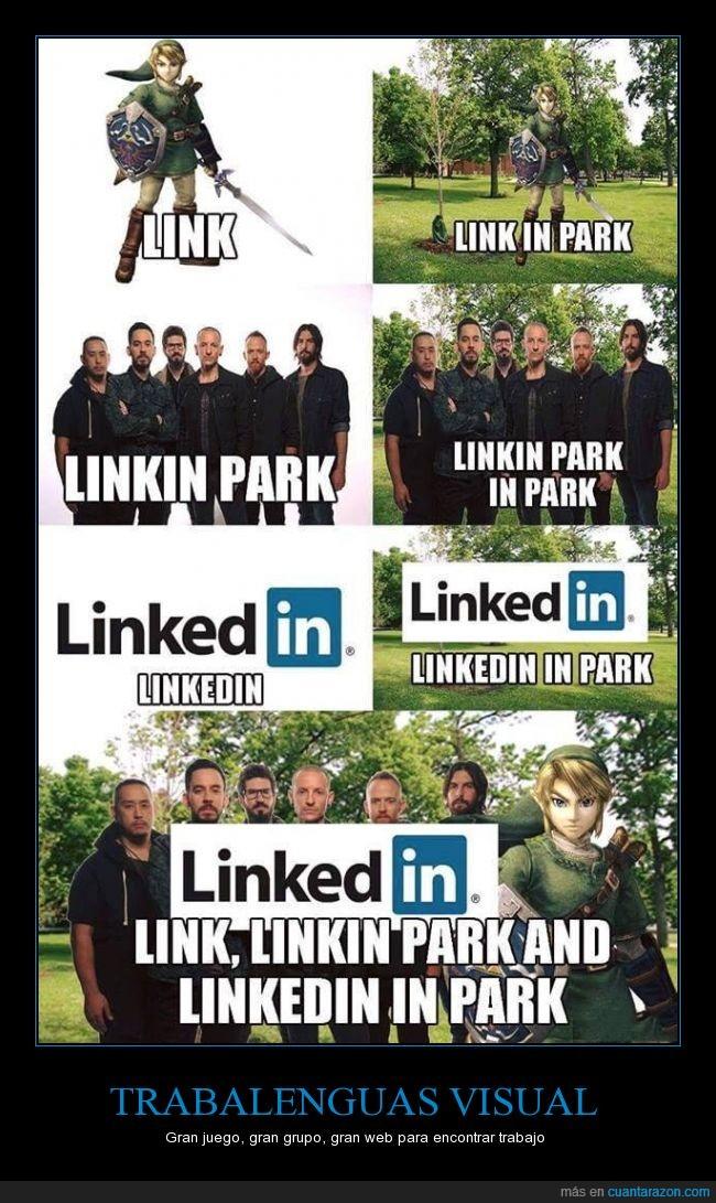Link,linkedin,linkin park