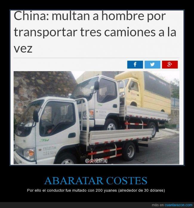 abaratar,camión,china,coche,hombre,llevar