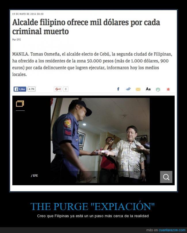 asesinar,beliviers corran,criminal,expiacion,matar,muerto,pagar,The Purge