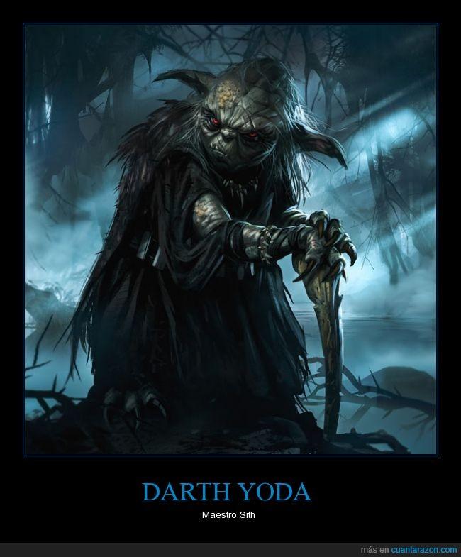 Fuerza,Jedi,Lado Oscuro,Sith,Star Wars,Yoda