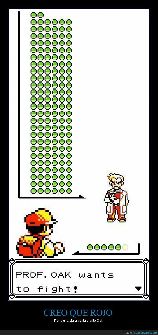 infinitos pokemon,oak,pokemon,rojo