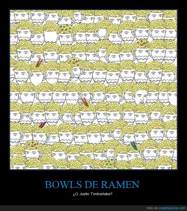 bowl,justin timberlake,ramen