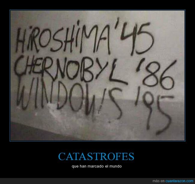 chernobyl,graffiti,hiroshima,humor,pared