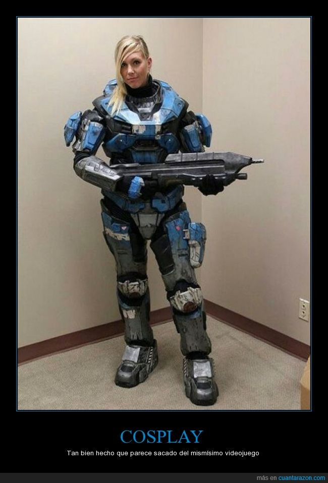 bien hecho,chica,cosplay,halo