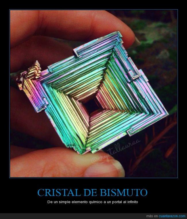 bismuto,cristal,elemento químico,portal